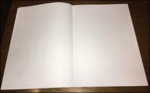 メモの魔力 おすすめノートとペンで自己分析実践!オリジナルメモ帳は_水平ノート_見開き