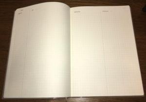メモの魔力 おすすめノートとペンで自己分析実践!オリジナルメモ帳は_魅力ノート_見開き