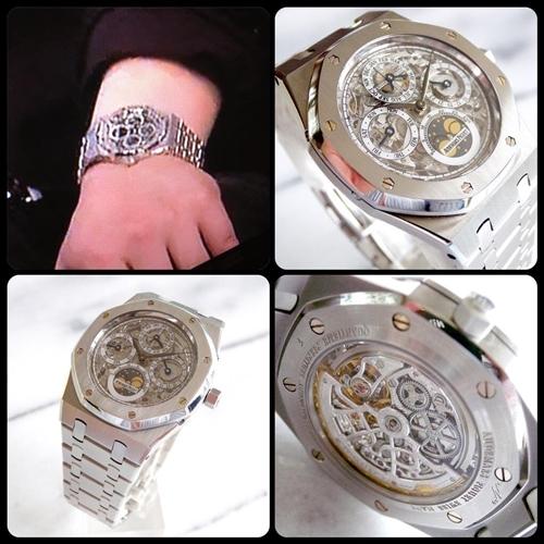 宮迫博之の資産(腕時計コレクション,愛車,豪邸)の値段は?画像あり_オーデマ・ピゲ