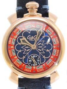 カラテカ入江のかっこいい腕時計は先輩・後輩からのプレゼント?_時計ガガミラノ