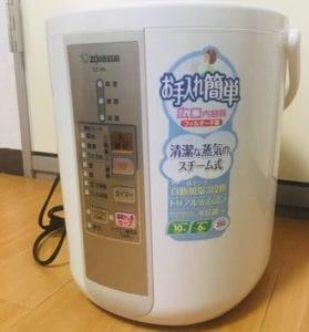 加湿器と空気清浄機は一緒に使うのと別とどっちが良い?お手入れ楽なおすすめは?象印