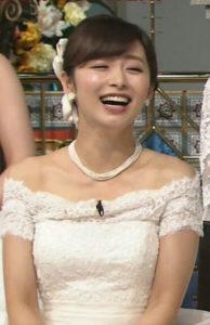 伊藤綾子のウエディングドレスの値段やブランド,デザイナーは?さんま御殿伊藤綾子