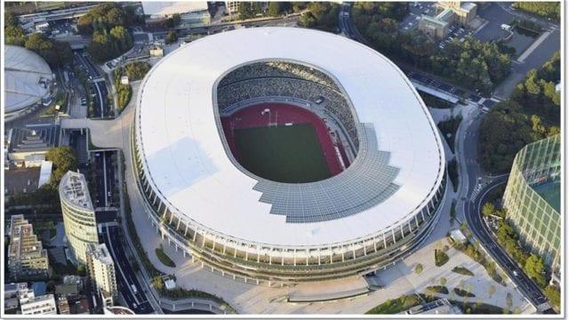 天皇杯決勝の会場(新国立競技場)や周辺のオムツ替え台・授乳室は?