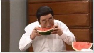 志村けんの好きな食べ物はお供え物はハリセンボン春菜に買った饅頭が良いスイカ