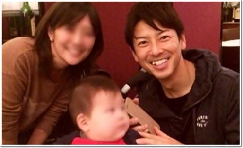 富川悠太アナの奥さんの写真は子供の名前や学校は【家族構成】_嫁子供画像2