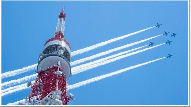 ブルーインパルス都心飛行(5月29日)の画像集(写真まとめ)!ベストショットは?